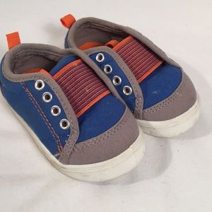 Garanimals Baby Toddler Shoes Size 4Blue Orange